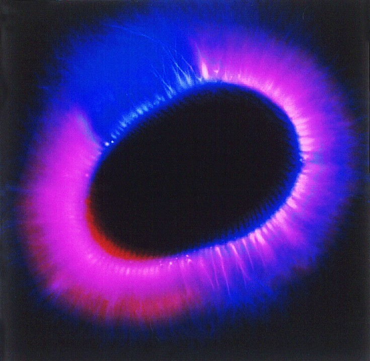 Clear Light Healing Session Through A Kirlian Photography Camera By Dianne Rini